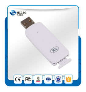 Contact SIM Size Card Reader (ACR38T-D) pictures & photos
