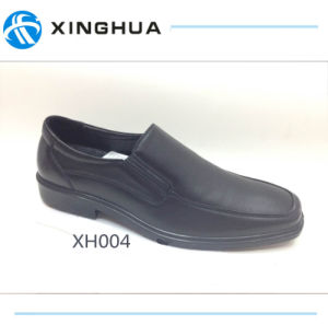 Popular Style Good Quality Police Office Leather Shoes pictures & photos