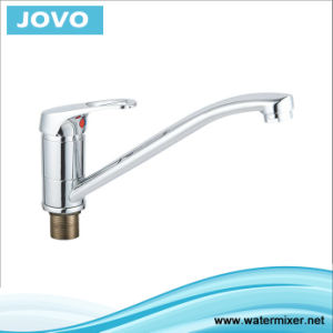 Sanitary Faucet Single Handle Kitchen Mixer Jv 73607 pictures & photos