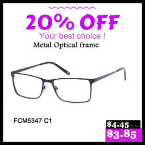 2017 New Design Metal Optical Frames Glasses pictures & photos