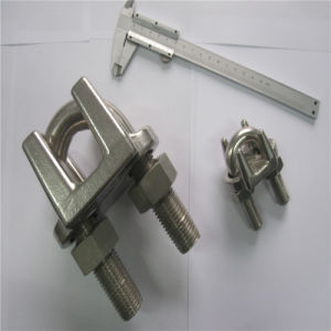 DIN741 JIS Type Stainless Steel Wire Rope Clips pictures & photos