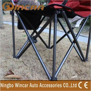 Portable Cheap Folding Chair Camping Beach Chair with Cup Holder pictures & photos