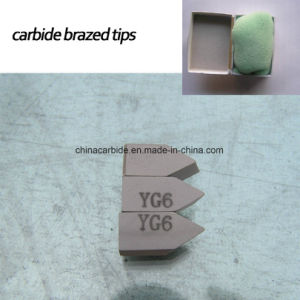 Carbide Brazed Tips for Lathe Cutting pictures & photos