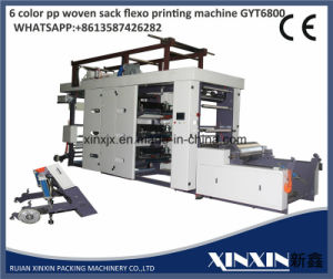 0.1mm Error 6 Color Flexographic Printing Machine Gyt6 Serial pictures & photos