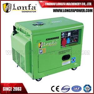 5kVA/ 6kVA Silent Type Diesel Generator with ATS Optional pictures & photos