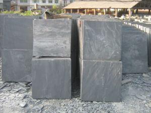 Manufacturer of Flooring Black Slate Tiles pictures & photos
