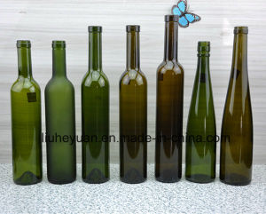500ml Green, Red Wine Glass Bottle pictures & photos