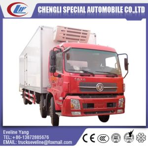 Dongfeng Cheap 13 Tons 3 Axles Refrigerating Truck pictures & photos