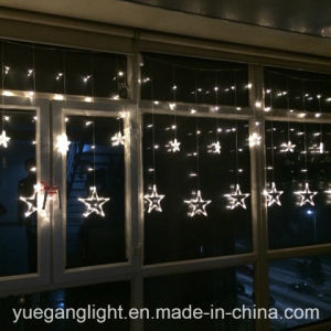 2017 Ce&RoHS Approved Good Quality LED Color Changing Curtain Light Wholesale Star Curtain Light From Yuegang pictures & photos