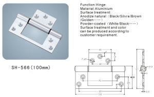 Aluminium Hinge for Doors and Windows (SH-566) pictures & photos