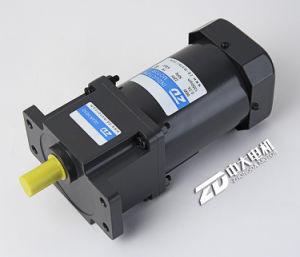 Zd 120W 220V AC Brake Speed Control Gear Motor pictures & photos