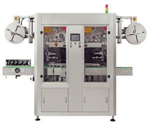 Sleeve Labeling Machine for Round Bottle Self Adhesive pictures & photos