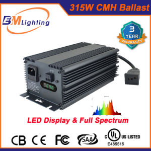 Greenhouse Indoor Garden 315W CMH/ HPS Digital Electronic Ballast Equal to 400W HPS Ballast pictures & photos