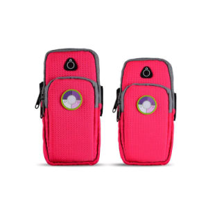 Phone Wrist Pouch Bags Nylon Armbags Handbags for Running Jogging pictures & photos