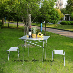 Aluminium Folding Table for Camping, Picnic pictures & photos