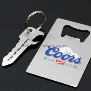 Custom Promotion Gift Big Blank Stainless Steel Beer Bottle Opener pictures & photos