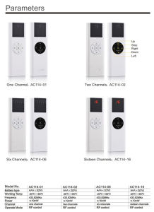 Window Shutter Remote Control Emitter/ Roller Shutter Transmitter/Roller Shutter Switch pictures & photos