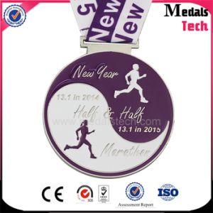 2017 Custom Zinc Alloy Marathon Running Title Sport Ranked Race Medal pictures & photos