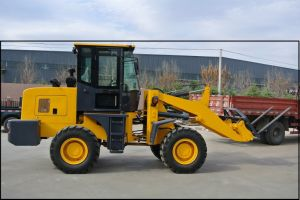 New Brand High Efficiency Electric Mini Wheel Loader pictures & photos