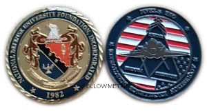Customized Collection Coin for National Foundation with Diamond Cutting