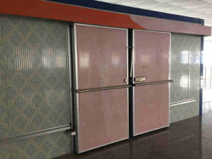 Cold Room Double Way Sliding Door pictures & photos