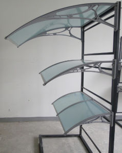 Weather Resistant Polycarbonate Door Canopy Awnings pictures & photos