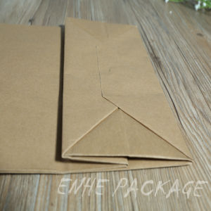 Custom Shopping Packaging Kraft Paper Bags with Handle pictures & photos