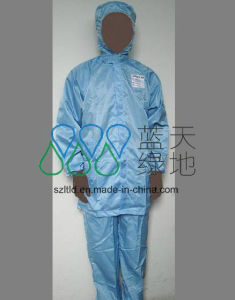 ESD Jacket with Cap and Trousers (LTLD106-3) pictures & photos