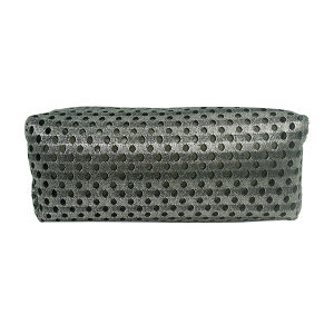 Toiletry New Cosmetic Bag Makeup Wash Organizer Sandwich Grey pictures & photos