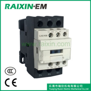 Raixin New Type Cjx2-N38 AC Contactor 3p AC-3 380V 18.5kw