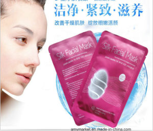 100% Natural Silk Collagen Micromolecule Face Care Silk Facial Mask pictures & photos