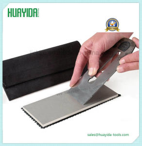 "3PC 6"" Diamond Sharpening Stone Set Fine, Extra Fine & Coarse Whetstone Knife pictures & photos"