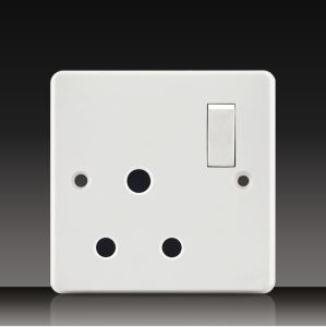 Wall Switch with 16A Socket (CK15) pictures & photos
