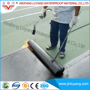Torch-on Modified Bitumen Waterproofing Membrane with Sands Surface pictures & photos