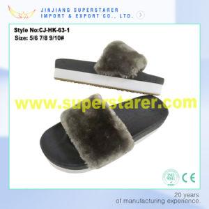 Custom Design EVA Slide Sandal Slipper for Women pictures & photos