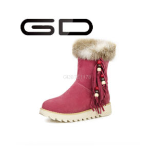 High Quality Snow Boots Anti-Slip Suede Snow Boots Strictly Comfort Warm Snow Boots pictures & photos