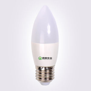 SMD C37 7W LED Lighting Bulb 650lm 2700k pictures & photos