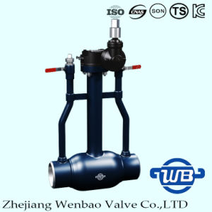 St37.0 Underground Fully Welded Ball Valve with Trunnion Mount pictures & photos