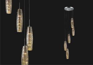 China Guzhen Hot Sale Glass Pendants for Canton Fair (SL pictures & photos