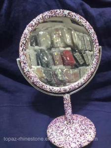 Crystal Sticker Mirror Rhinestone Sticker Household Rhinestone Mirror (TP-020 mirror) pictures & photos