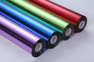 Pet Material Hot Stamping Foil for Paper /Aluminum pictures & photos