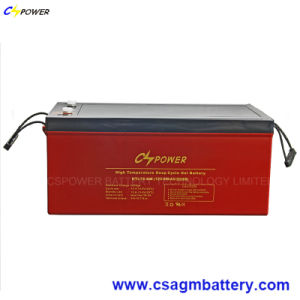 Rechargeable Solar Gel Battery 12V250ah for High Temperature Power Use  pictures & photos