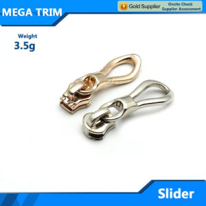 Factory Wholesale Metal Zipper Slider for Bag pictures & photos