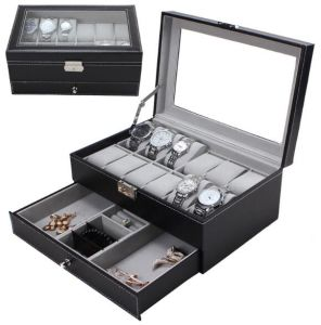 Watch Box Jewelry Box Leather Box for Storage and Display pictures & photos