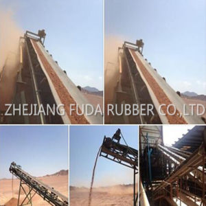 Ep Nylon Cotton Canvas Rubber Conveyor Belting pictures & photos