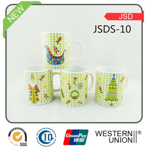 Porcelain Ceramic Coffee Mug Cup for Promotion Gift (JSDS-10) pictures & photos