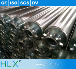 Single Iron Srocket Stainless Steel Roller, Anti-Rust Conveyor Roller pictures & photos