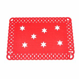 3mm & 5mm Promotional Polyester Placemat for Tabletop and Christmas Decorations pictures & photos