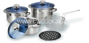 8 PCS Stainless Steel Cookware Set pictures & photos