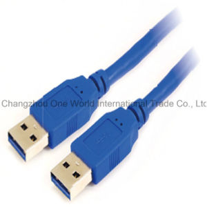 USB 3.0 a Male to a Male Cable pictures & photos